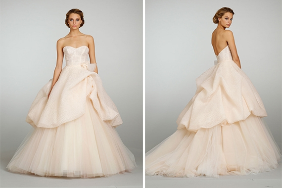 Lazaro Wedding Dress Pink - Missy Dress