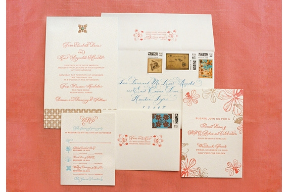 Los Angeles Wedding Invitations: Wedding Invitations Los Angeles: Laura Hooper Calligraphy
