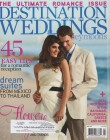 Destination Weddings & Honeymoons Cover April '11