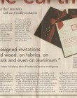 LA Times Invitations Article