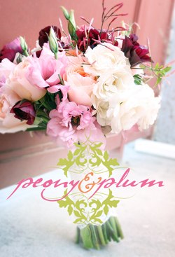 peony and plum Wedding Floral + Decor