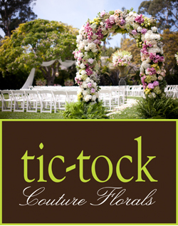 tic tock couture florals