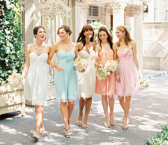 Chiffon Bridesmaid Dresses | Los Angeles Wedding Planning: The ...