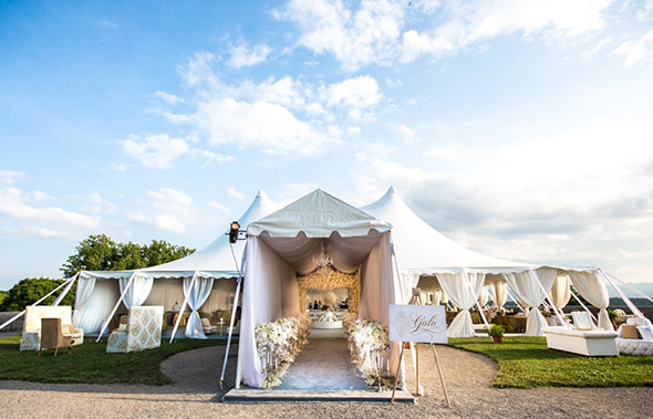 white wedding tents ... & Engage!13: Great Gatsby Wedding Theme | Los Angeles Wedding ...