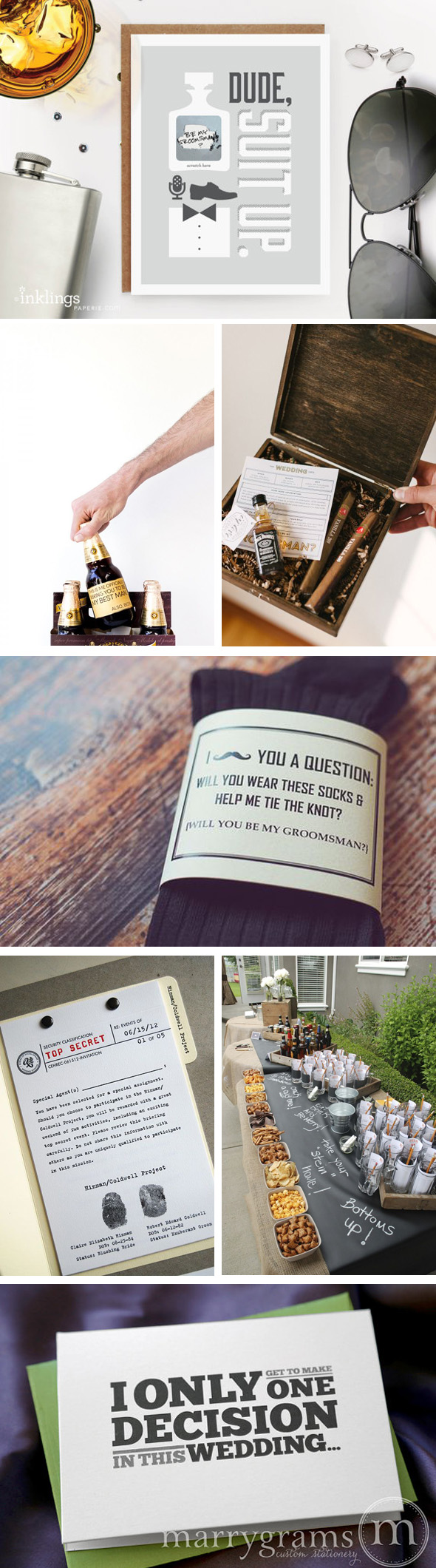 How to ask will you be my groomsman los angeles wedding how to ask groomsmen junglespirit Choice Image